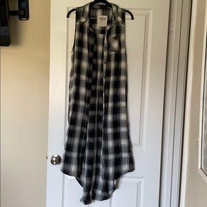 Mossimo plaid duster/dress